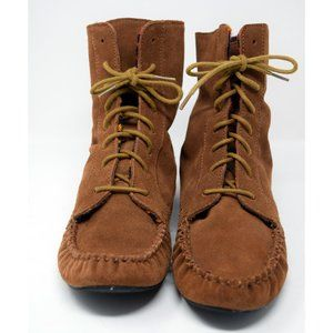 American Rag Moccasins Lace Up Boots Size 9.5